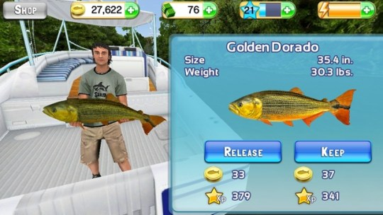 Fishing Kings Free  on the App Store Screenshots