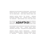 Download Tulus - Adaptasi