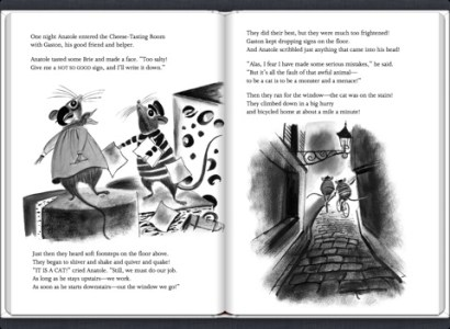 Anatole and the Cat by Eve Titus on iBooks screenshot 3  screenshot 4  screenshot 5  Anatole and the Cat