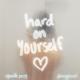 Download lagu Charlie Puth & blackbear - Hard On Yourself