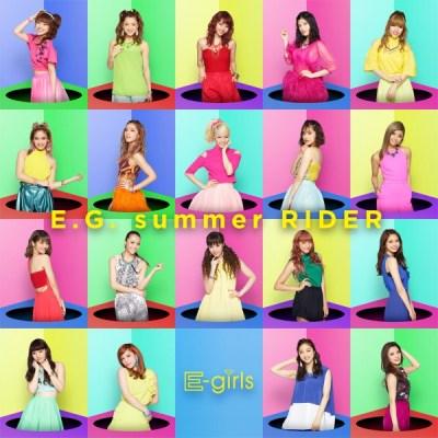 E-girls - E.G. summer RIDER - EP