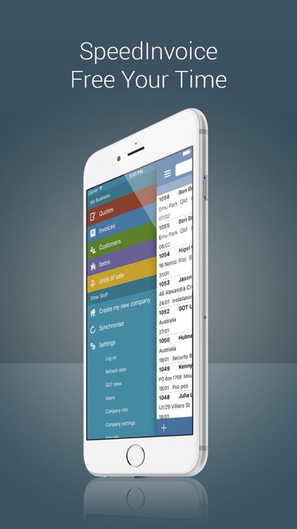 Invoice App with Estimates by SpeedSolutions Pty Ltd Invoice App with Estimates screenshot 4