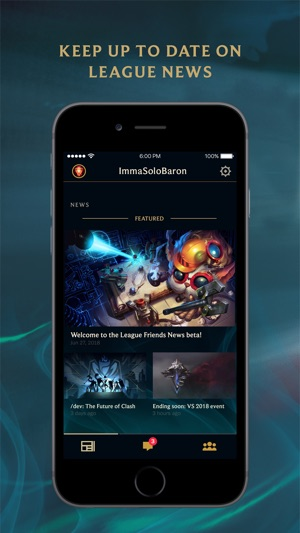 League of Legends Friends on the App Store iPhone Screenshots