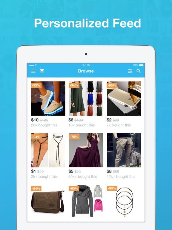 Wish Page Shopping