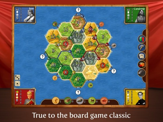 Catan Classic HD on the App Store iPad Screenshots