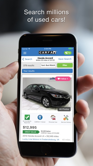 CARFAX Find Used Cars for Sale App Download - Android APK