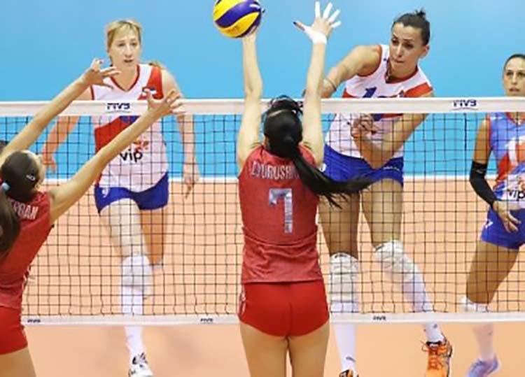 women's volleyball net height - 600×480