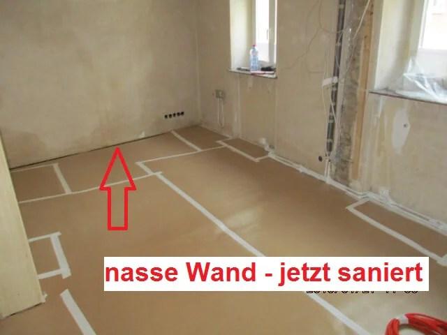Aufwendige Sanierung einer kleinen Wand- Isotec Nieder-Olm