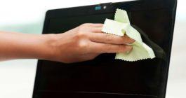 Mint törölje a laptop képernyőjét: A legjobb eszközök