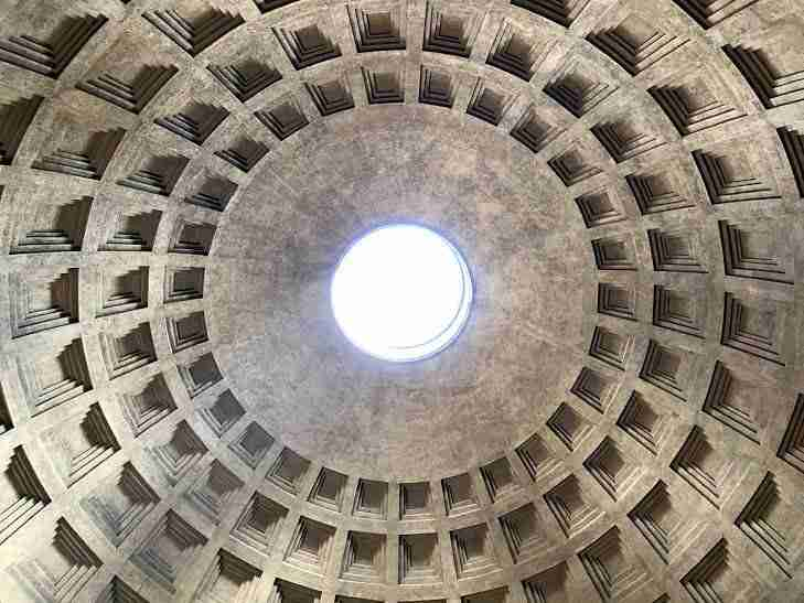 The Pantheon oculus