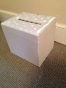 Michaels Ivory Card Money Box Reception Decoration   Tradesy Michaels Ivory Card Money Box Reception Decoration