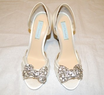Platform Bridal Shoes