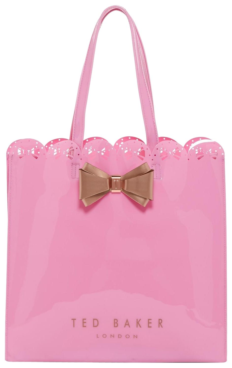 1b6a0caa1154 Ted Baker London Evecon Bow Large Icon Pale Pink Pvc Tote Tradesy