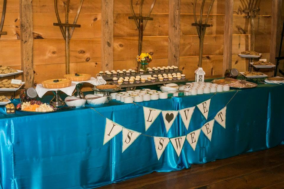 Rustic Wedding Decor Teal Tradesy Weddings