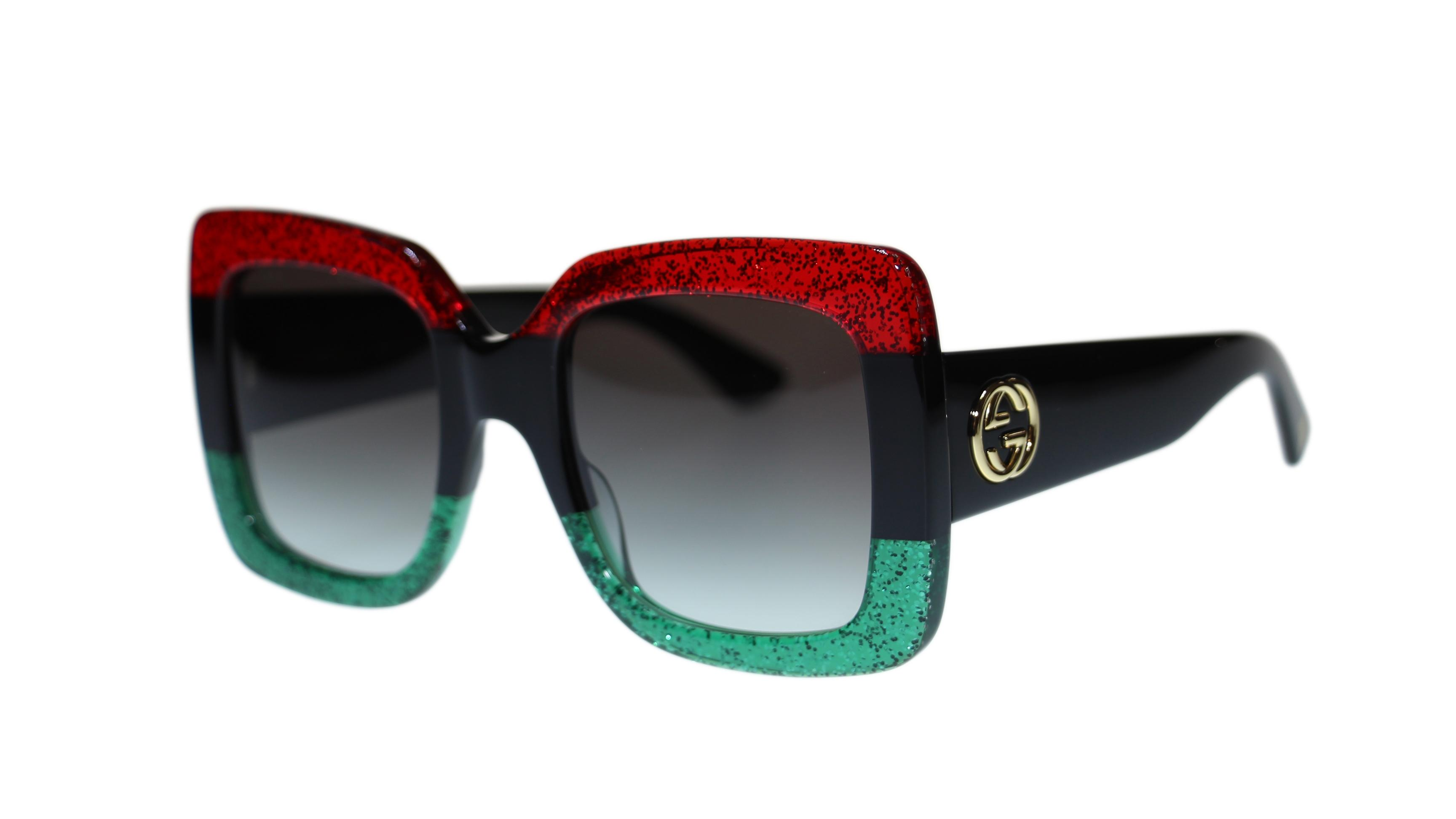 09881496f1b Green And Red Gucci Sunglasses