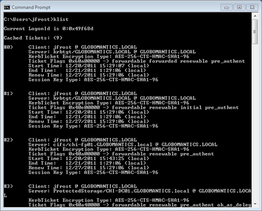 Event 3 Security Kerberos