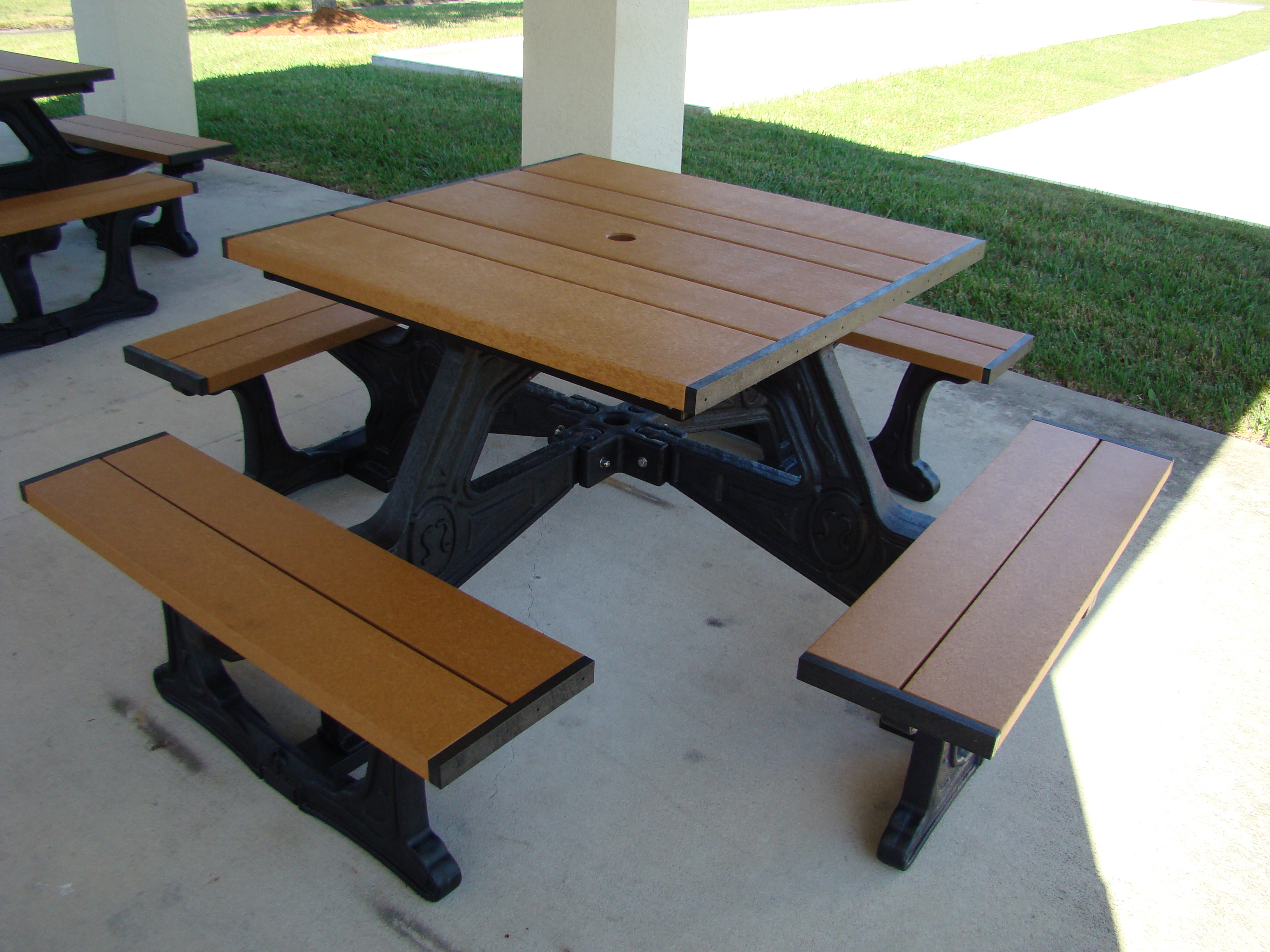 Town Square Picnic Table Outdoor Furniture At American