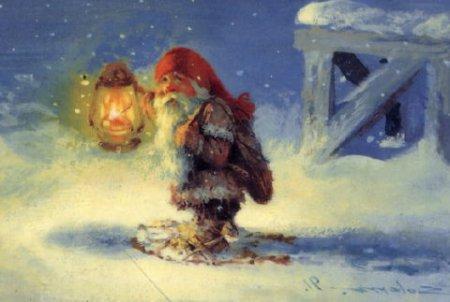 Санта Клаус қайдан пайда болды және Ақшақар