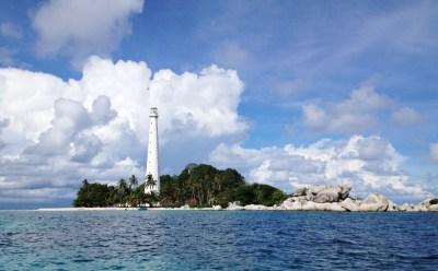 Island Hopping in Belitung