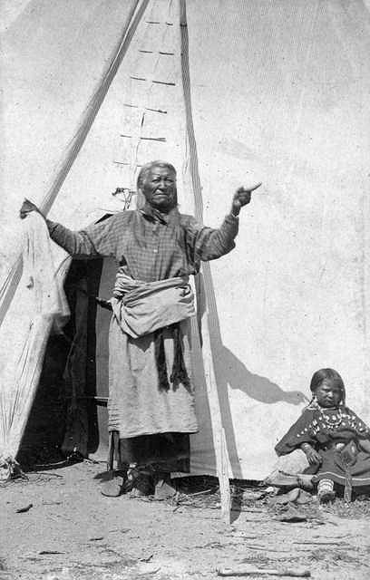 Chief Washakie Of The Shoshone A Photographic Essay By