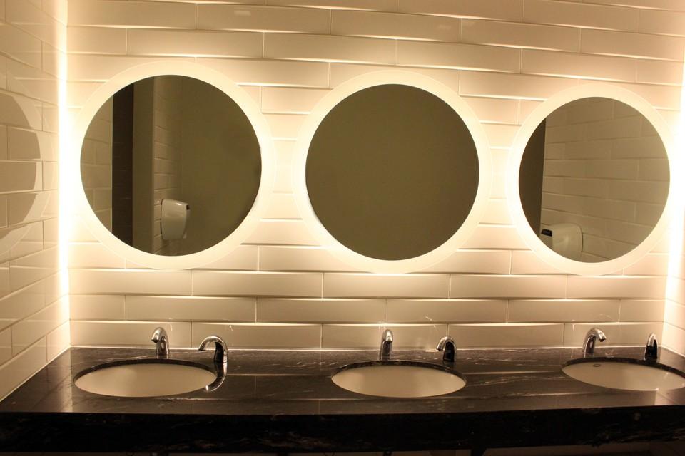 Round Vanity Mirror Lights
