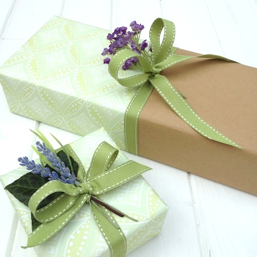 Cellophane Wrap Baby Gifts