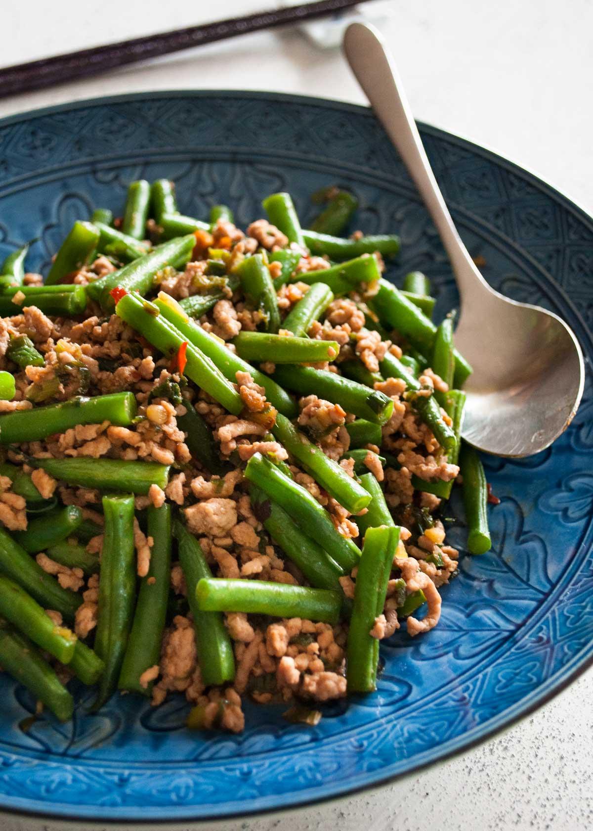 Chinese Pork Green Beans
