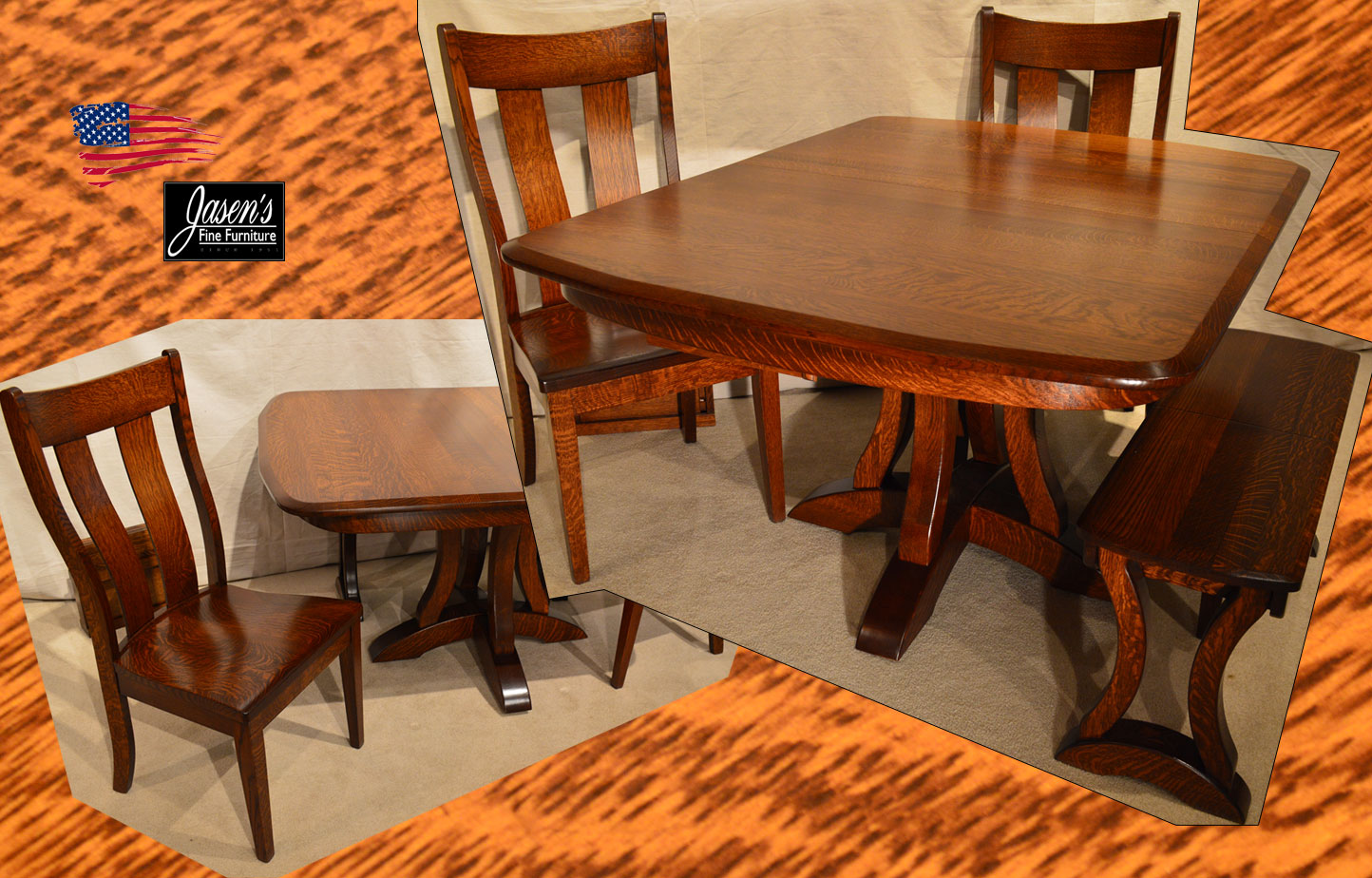 Amish Richfield Table Amp Side Chairs Jasens Furniture