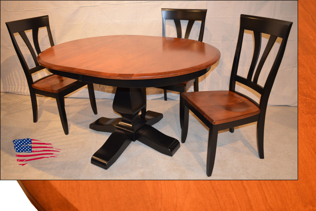 Amish Dining Table And Chairs
