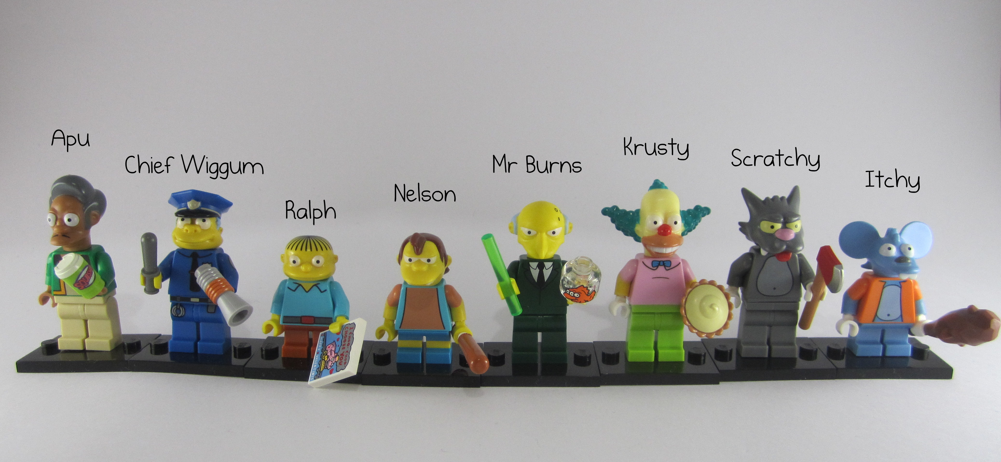 Review  LEGO Simpsons Collectible Minifigures Part 2 LEGO Simpsons Minifigures Names
