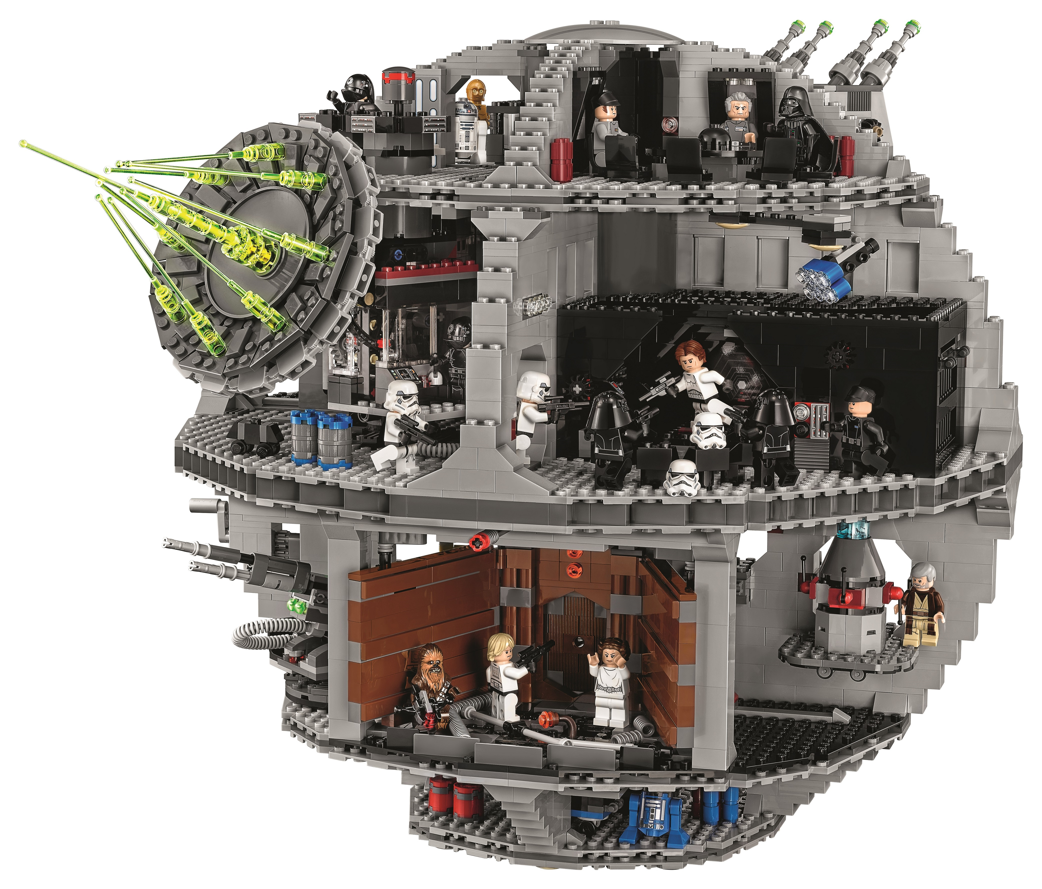The LEGO 75159 Death Star is almost a carbon copy of its ...