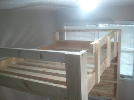 How To Build A Full Size Loft Bed Jays Custom Creations