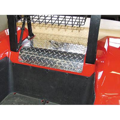 Jb Carts Diamond Plate Motor Access Cover Panel Ezgo