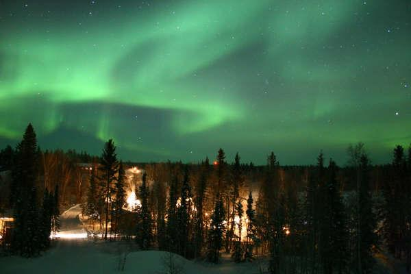 Yellowknife Northern Lights