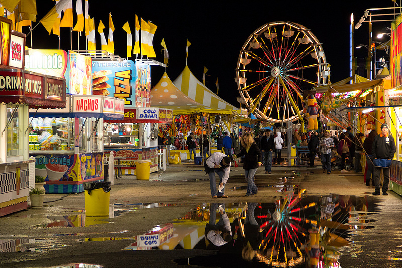 Carnival At Night San Angelo Rodeo Jcutrer Com