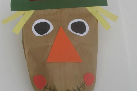 Halloween Crafts With Brown Paper Bag Picture Gallery