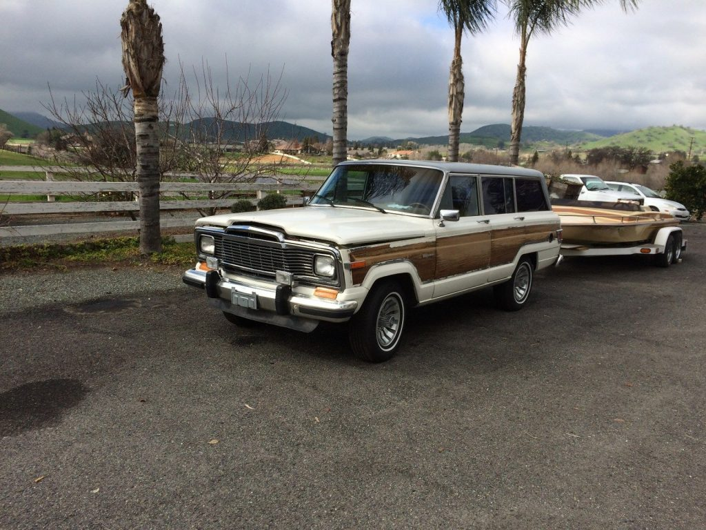 1983 Jeep Grand Cherokee Wagoneer Limited