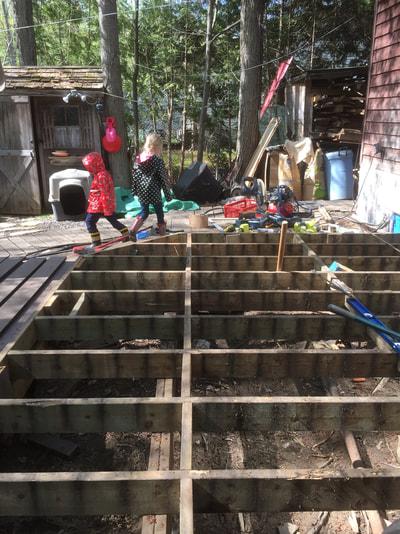 Rim Joist Deck Repair