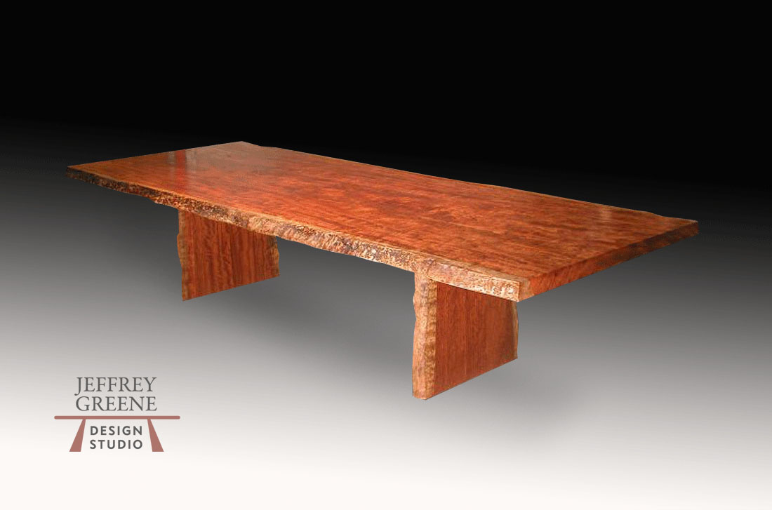 Natural Edge Wood Coffee Tables