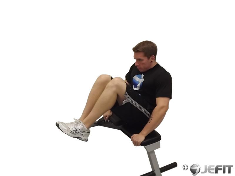 Seated Leg Tucks Exercise Database Jefit Best