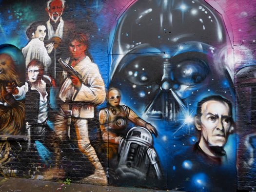 Cantina Star Wars Wall Mural