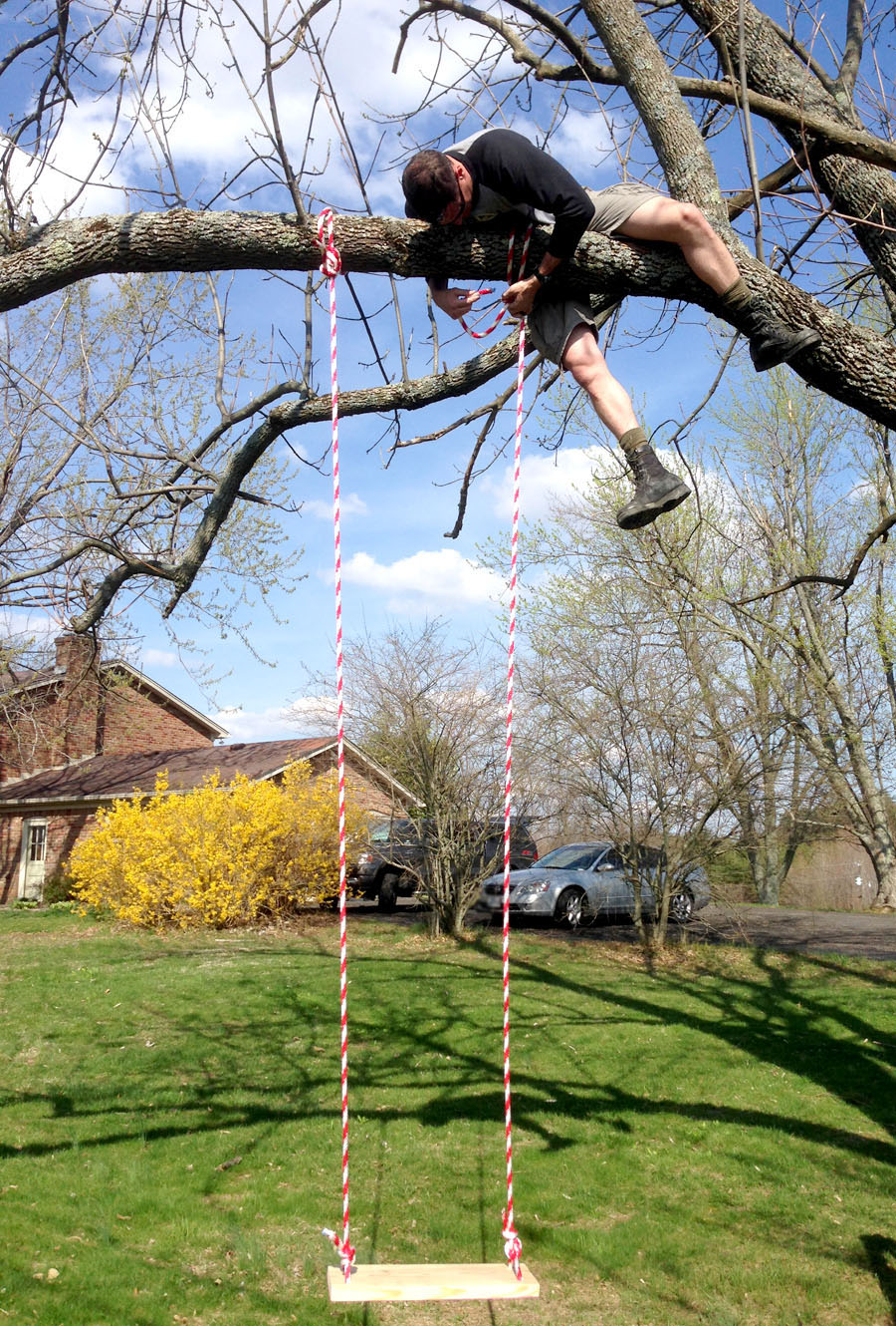 Swing Hanging The House Of Wood