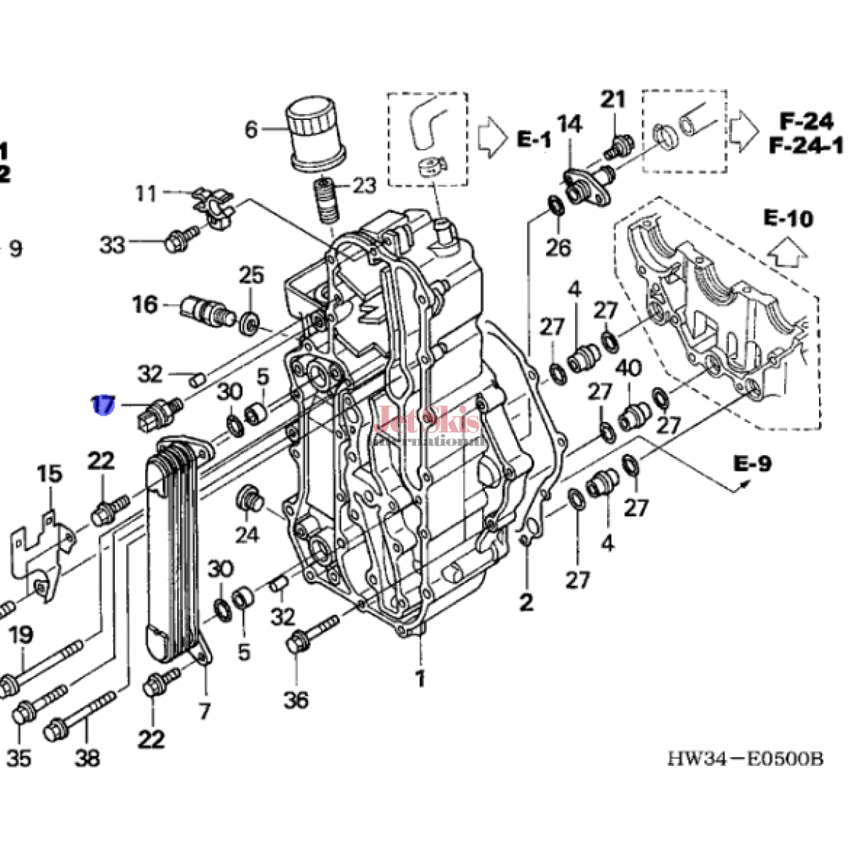 Honda aquatrax 37240 phm 003 switch assy oil pressure jet skis diagram of 37240 phm 003 engine location at 56 ford f100 wiring diagram