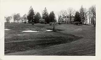 A Club of Their Own  Suburban and Woodholme Through the Years     18th Green and Fairway at the Woodholme Country Club  April 24  1930   Photograph