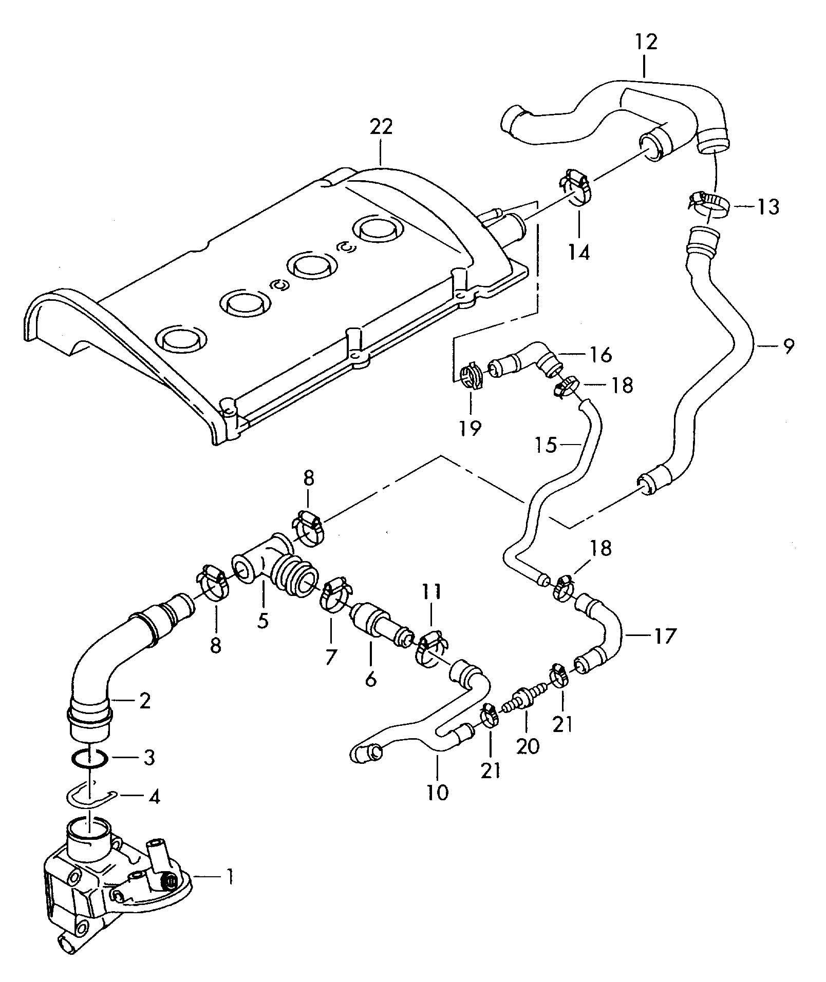 Pictures of vw passat vacuum hose diagram