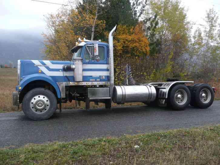 Western Star 4964 1984 Daycab Semi Trucks