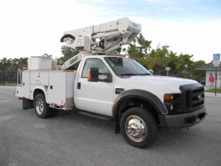 Ford F550 Super Duty 2008 Bucket Boom Trucks