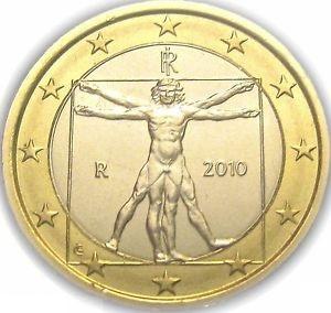 Moeda de Itália em 1 euros.