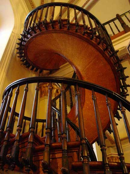 The Loretto Chapel Staircase Miracle   The Staircase Of Loretto Chapel   Spiral   Explained   Ancient   Free Standing   Sparrow