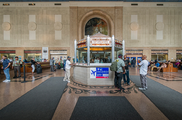 Penn Station New Jersey Transit Authority Natoli